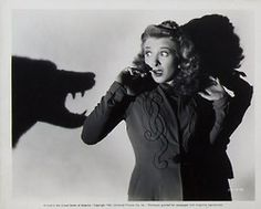 """universalmonsterstribute: """" Happy birthday to """"Queen of the screamers"""" Evelyn Ankers! August 1918 – August some Universal films Evelyn played in: The Wolf Man The Ghost of. Monster Party, Monster Mash, Evelyn Ankers, Caspar David, Horror Icons, Horror Films, Jeepers Creepers, Famous Monsters, Classic Monsters"""