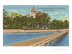 Southernmost House, Key West, Florida Posters at AllPosters.com