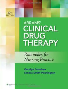 You will download digital wordpdf files for complete solution name abrams clinical drug therapy rationales for nursing practice author geralyn frandsen fandeluxe Image collections