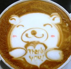 .·:*¨¨*:·. Coffee ♥ Art.·:*¨¨*:·. A cup of coffee to say thank you!