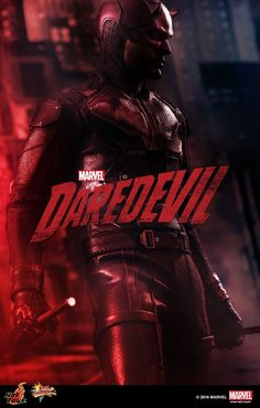 New Hot Toys 1/6 Scale Netflix Daredevil Teaser Image #Marvel