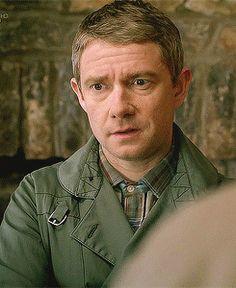 "Sherlock & John (2:2). John: ""That's his name!"""