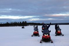 Winter season has started in Lapland! From mid-November winter activities like snowmobiling can be run each year.