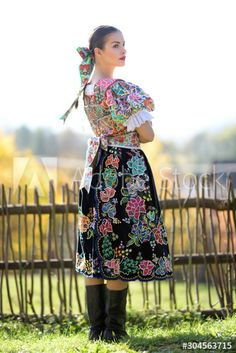 - Buy this stock photo and explore similar images at Adobe Stock Folklore, Stock Photos, Woman, Floral, Skirts, Photography, Fashion, Moda, Fotografie