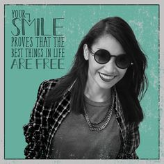 THE BEST THINGS IN LIFE are free, and that includes smiles! We hope you're showing yours off! #LondonSmileCare #CosmeticDentistry