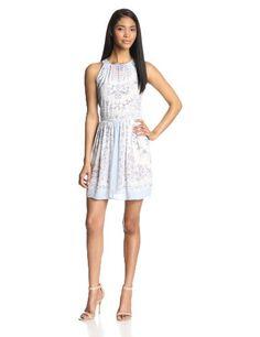 BCBGMAXAZRIA Women's Cambria Printed Halter Dress $228 @ http://apparelsmart.net/shop/bcbgmaxazria-womens-cambria-printed-halter-dress/