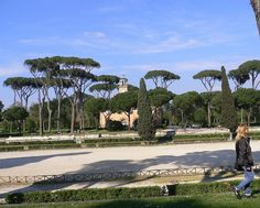 Roma - Piazza di Siena a Villa Borghese, via Flickr.