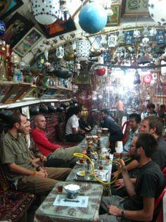 Tea house in Iran  Partay