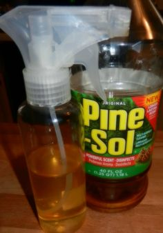 Using Pine Sol as Mopping Spray