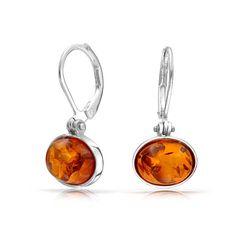 Heritage Women's Sterling Silver and Freshwater Pearls Art Nouveau Leaves Drop Earrings W9T4KlJT