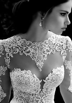 .love the lace