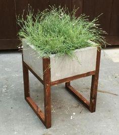 Home Depot DIH Workshop Modern Paver Planter - can customize too