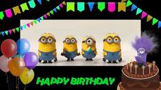 Minions Sing Happy Birthday. Happy Birthday Greeting from Minions.