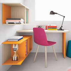 Battistella Woody Children's #desk designed to be practical and functional. The…