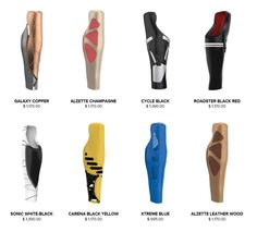 3ders.org - UNYQ's 3D-printed covers make prosthetics modern and stylish | 3D Printer News & 3D Printing News