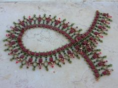 Esercitazione  collana Sahara  Ceca CzechMates perline di zviagil