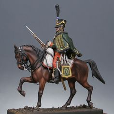 Light cavalry : Mounted hussar 7th regiment 1808