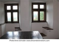 Two windows in Bran Castle River Cruises In Europe, European River Cruises, Bran Castle Romania, London Hall, Teaching World Geography, Swiss Guard, Award Plaques, Ocean Cruise, Hall Of Mirrors