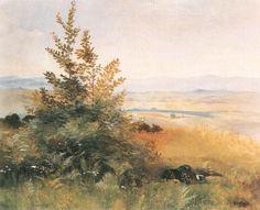 Sleeping in the Grass de Jacek Malczewski (1854-1929, Poland)