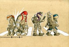 Abbey's Turtles by suicidalassassin.deviantart.com on @deviantART