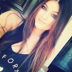 Thinking about doing my hair this color when I wear it straight straight:)