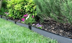Talking about Edgers use in Landscaping Edgers Landscaping Landscape Edging Garden Borders Kits Frame It All Wood Landscape Edging, Landscape Curbing, Landscape Design Plans, Landscape Fabric, Brick Border, Lawn Edger, Wooded Landscaping, Mediterranean Garden, Garden Borders