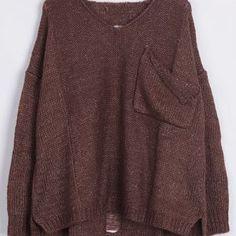 Cupshe Make the Cut Irregular Casual Sweater