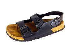 BUTELA Sandals BIRKENSTOCK Black LEATHER Ankale Buckle COMFORT Shoes MENS 13 46
