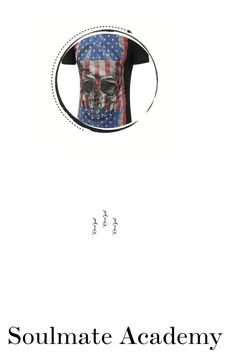 """""""Untitled #7"""" by dobricka ❤ liked on Polyvore featuring skull, Tee, Tshirt, 3d and rosegal"""