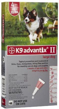 K9 Advantix Dog Red 21-55 lbs. (4 Pack) - http://www.thepuppy.org/k9-advantix-dog-red-21-55-lbs-4-pack/