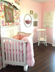Pink Nursery with Fl