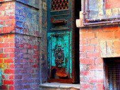 IRON  DOOR - Balat, Istanbul