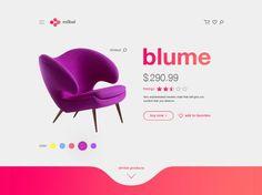 Product page designed by Nevena Milivojevic. Ecommerce Web Design, App Ui Design, Web Layout, Layout Design, Ui Kit, Pag Web, Minimal Web Design, Ui Design Inspiration, Mobile Design