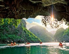 On my life's to do list - kayak Ha Long Bay in Vietnam.