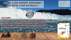 Herbal Liver Support Supplement to Detox Liver Naturally
