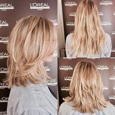 Frisuren schulterlang stufenschnitt