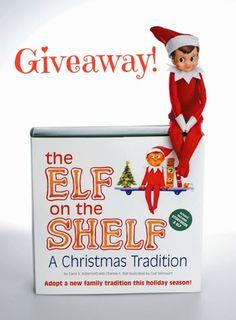 Giveaway: ELF ON A SHELF #elfonashelf - Fuggs and Foach