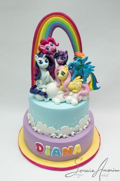 Little pony Cake by Soraia Amorim