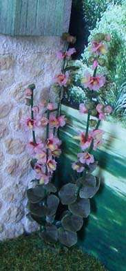 Tutorial ♥HOLLYHOCKS-Hortensias - scroll down for the tutorial  (this has an annoying add-on-look for the 'x' on the upper right of ad)