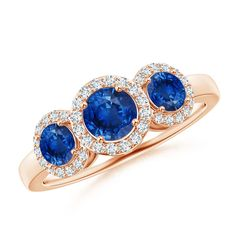 Angara Cushion Tanzanite Diamond Halo Ring With Swirl Motifs in Platinum E0zepAqw1