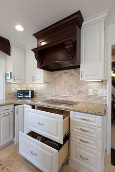 23 - Mission Viejo - Kitchen Remodel - Like the drawers under the stove for pot and pan storage