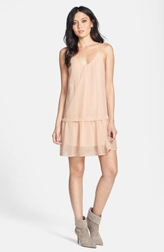 ASTR Lace Trim Shift Dress | Nordstrom