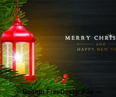 Christmas And New Year Greeting Card Template With Christmas Lantern And Fir Tree - Buy this stock vector and explore similar vectors at Adobe Stock Greeting Card Template, New Year Greeting Cards, New Year Greetings, Christmas Lanterns, Christmas Decorations, Holiday Decor, Christmas Cards, Christmas Ornaments, Christmas Ideas
