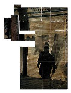 Sin título. Serie: Retratos de ciudad de 1998 Fotografía en blanco y negro y proceso químico Colección Fundación Fernell Franco