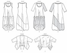 Vogue 8975, lots of photos of actual garments, ideas for fabric and patterns
