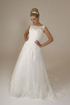 Kelly - Brides by Harvee lace wedding gown