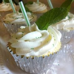 Mint Julep Cupcakes... Mmm.. Look out Kentucky Derby!!!!