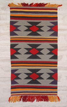 Antique Navajo Germantown Sampler : GHT 2127