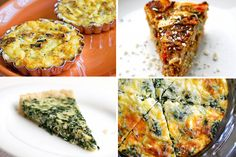 A variety of delicious-looking quiche recipes from The Pioneer Woman's Tasty Kitchen. Pan Dulce, Quiches, Special Recipes, Great Recipes, Filet Mignon Chorizo, Biscotti, My Favorite Food, Favorite Recipes, Salsa
