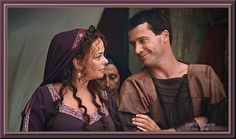 Loved Atia & Antony (Polly Walker and James Purefoy) in HBO's Rome. Rome Tv Series, Series Movies, Uk Actors, Actors & Actresses, Rome Hbo, Roman Dress, James Purefoy, Black Edition, Roman Empire